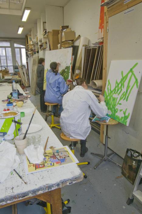 Wazemmes : des stages d'initiation à l'art contemporain au centre d ... - La Voix du Nord | Marchini abstraction | Scoop.it
