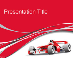 F1 PowerPoint Template | Free Powerpoint Templates | Racing | Scoop.it