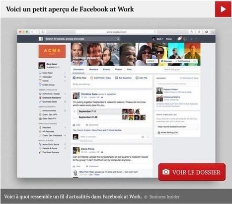 Facebook at Work : voici ce que les premiers utilisateurs en disent | Web Community | Scoop.it