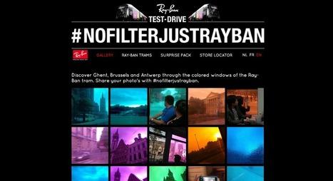 Ray-Ban : des filtres Instagram dans les lunettes de soleil ! | streetmarketing | Scoop.it