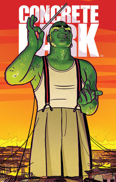 You'd Better Show Concrete Park Some R-E-S-P-E-C-T This September - Talking With Erika Alexander And Tony Puryear | Bleeding Cool | Ladies Making Comics | Scoop.it