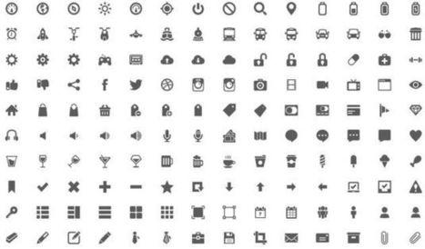 Gemicon, impresionante megapack gratuito con más de 600 iconos en PNG y PSD   LMS Moodle   Scoop.it