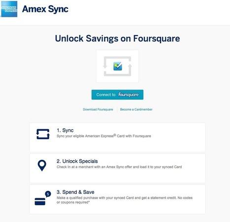 Foursquare : quel avenir avec l'arrivée probable de American Express ? | toute l'info sur Foursquare | Scoop.it