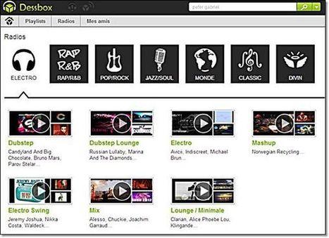 Dessbox un carrefour pour la musique en ligne. | Cabinet des curiosités | Scoop.it