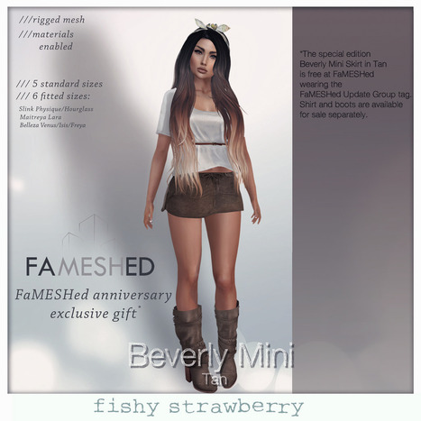 FaMESHed Anniversary Gift | 亗 Second Life Freebies Addiction & More 亗 | Scoop.it