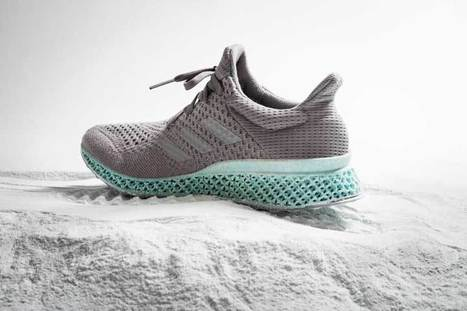 Adidas shows 3D printed footwear from oceanic plastic | Materials & Production News | Ecotextile News | Ethical Fashion | Scoop.it