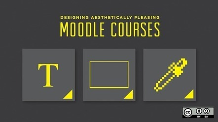 Designing aesthetically pleasing Moodle courses | opensource.com | Tendencias en Elearning | Scoop.it