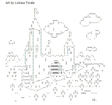 ASCII Art Castles - ascii-code.com | ASCII Art | Scoop.it