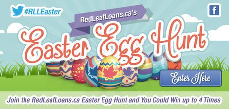 Easter Egg Hunt Sweepstakes - Red Leaf Loans | Contests | Giveaways | Promos | ETC | Scoop.it