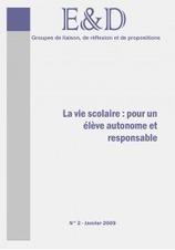 La Vie scolaire: pour un élève autonome et responsable - La librairie des Cahiers pédagogiques | CPE NUMERIQUE- Des ressources pour des usages pédagogiques | Scoop.it