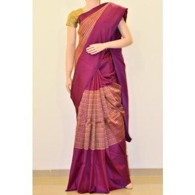 Buy purple kanchipuram silk saree online   Online Kanchipuram sarees : Madhurya   Kurtis, Sarees, Jewellery   Scoop.it