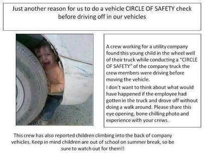 'Circle of Safety' - Child Stuck in Wheel Well Photograph   The Matteo Rossini Post   Scoop.it
