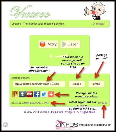 Vocaroo : un outil pour travailler la production orale d'une langue | TICE et Apprentissage des langues | Scoop.it