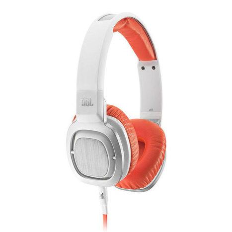 JBL J55 Blanc / Orange – Headphones   High-Tech news   Scoop.it