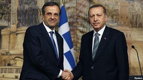 La Grèce se rapproche de la Turquie | Chypre, mur invisible. | Scoop.it