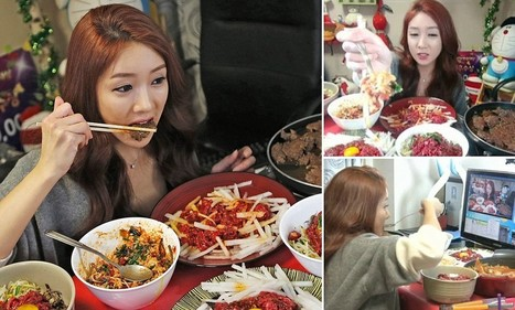 South Korean woman makes £5,600 a month streaming herself eating | ARTICLES FOR THE CLASSROOM | Scoop.it