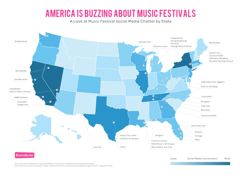 EU : Top 2014 Music Festival Trends | MusIndustries | Scoop.it