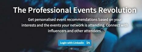 PickEvent, recibe notificaciones de eventos para profesionales | Apps Web PC | Scoop.it