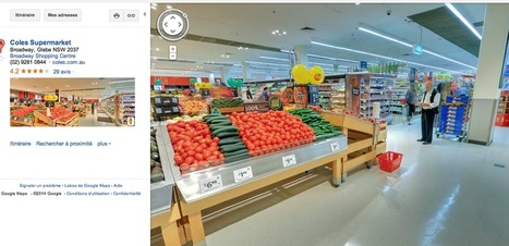 Visite via Google Maps d'un supermarché de l'enseigne australienne Coles | La Minute Retail | Customer Marketing in Retail | Scoop.it