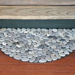 Natural DIY stone door mat | Upcycled Garden Style | Scoop.it