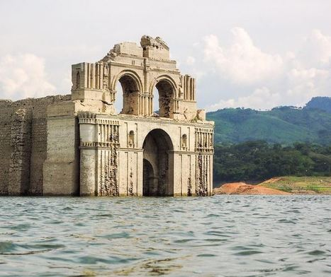 Dropping water levels reveal hidden church | Geography Education | Scoop.it