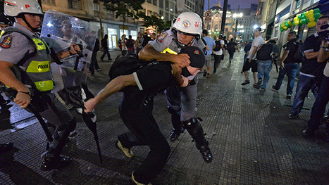 Hundreds arrested in Brazil as protest against World Cup spending grows violent | Current Events | Scoop.it