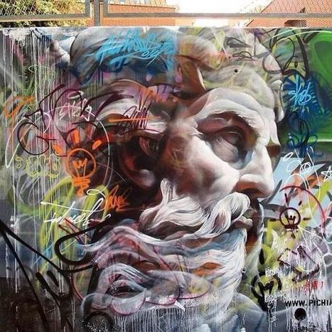 Pichi & Avo new Street Art piece, Valencia, Spain @GoogleStreetArt | Music and Art | Scoop.it