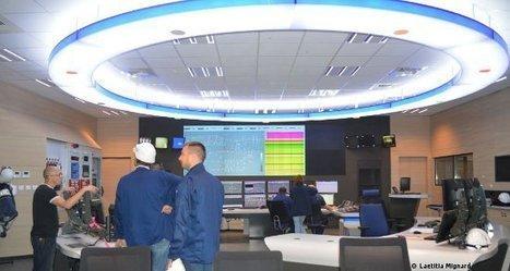 Nouvelle salle de commande, symbole de modernité | Centrale thermique EDF du Havre | Scoop.it