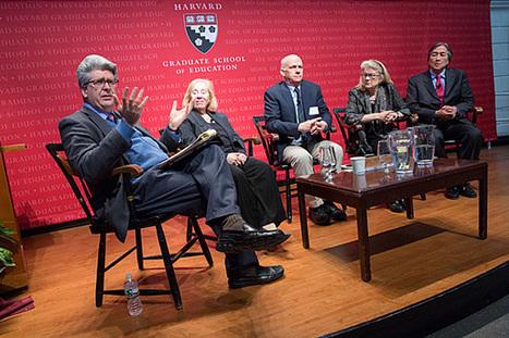 Reconnecting on education - Harvard Gazette   digital divide information   Scoop.it