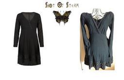 Cute New All Saints Riveted Cotton Dress Dip Hem & Slip UK 8 £110 Boho Festival | Shot Of Steam | Scoop.it