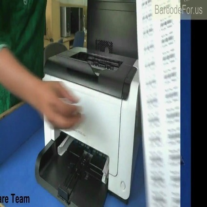 How to adjust barcode height and density - TeacherTube | Barcode Software | Scoop.it