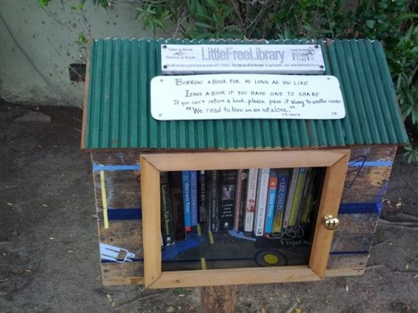 Little Free Library can help put a library on your corner | Outils et  innovations pour mieux trouver, gérer et diffuser l'information | Scoop.it