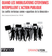 Quand les mobilisations citoyennes interpellent l'action publique - Millenaire3 | Innovations sociales | Scoop.it