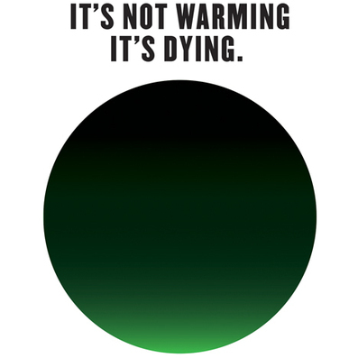Milton Glaser designs campaign to tackle climate change | Global Evolution: Will we be in time? | Scoop.it