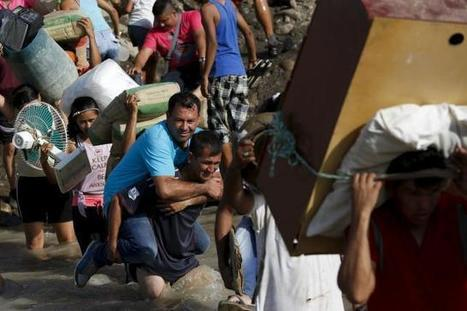 Distraught Colombians flee Venezuela as border dispute intensifies | Wandering Salsero | Scoop.it