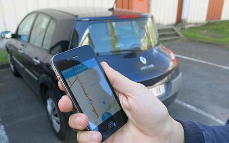 Et si votre téléphone vous disait où trouver des places de parking | Smart Mobility | Scoop.it