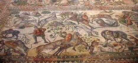 Roban parte de un mosaico romano del siglo IV dedicado al dios Baco en Burgos | La Cultura y El Arte Del Imperio Romano | Scoop.it