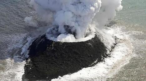 Imagen de la nueva isla que ha emergido a 1.000 kilómetros de Tokio   Zientziak   Scoop.it