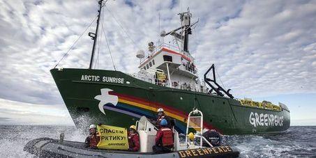 cyberaction Libérez les activistes de Greenpeace | Lecture citoyenne | Scoop.it