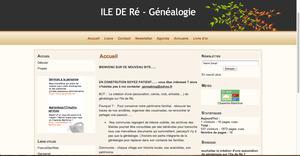 L'Ile de Ré veut se pencher sur sa généalogie - GénéInfos | GenealoNet | Scoop.it