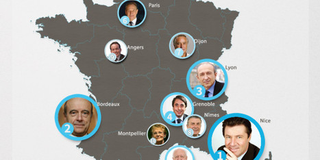 Qui sont les maires les plus influents sur Internet? | Think outside the Box | Scoop.it