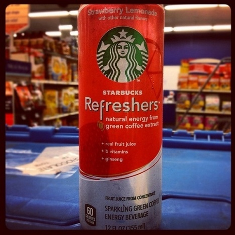 Starbucks: Refreshers | Being Your Brand | Scoop.it