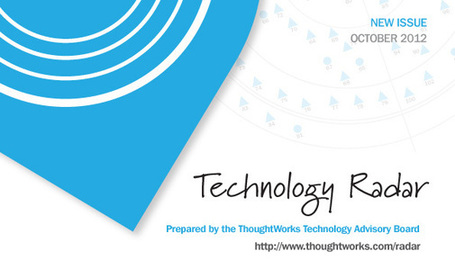 Technology Radar | www.thoughtworks.com | catosplace | Scoop.it