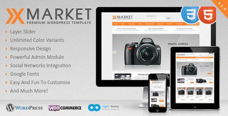 XMarket - Responsive WordPress E-Commerce Theme (eCommerce) Download | eCommerce Templates Download | Scoop.it
