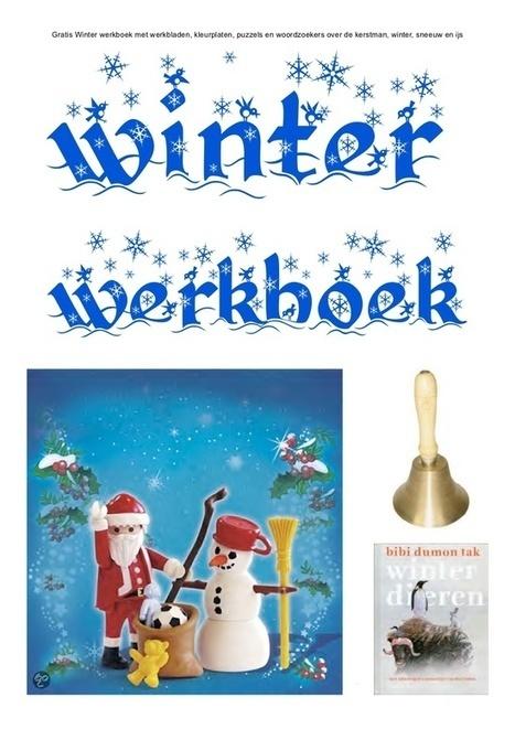 Winter werkboek van schoolgoochelaar Aarnoud Agricola over de kerstman, sneeuw en ijs   Gratis thema-werkboeken van schoolgoochelaar Aarnoud Agricola uit Utrecht   Scoop.it