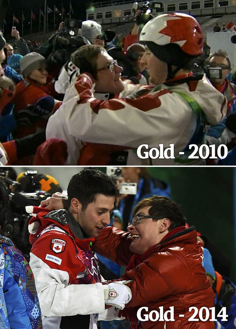 The 9 most-shared moments from Canada's Olympics : The Globe and Mail – 2014 Winter Olympics | Sport Research | Scoop.it