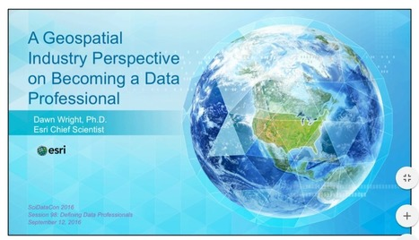 Connections between Geospatial Data and Becoming a Data Professional | Everything is related to everything else | Scoop.it