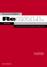 ReCALL - Abstract - Language students and their technologies: Charting the evolution 2006–2011 | Technology and language learning | Scoop.it