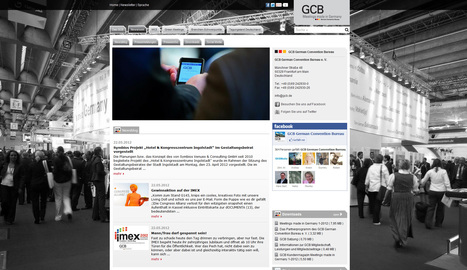 Newsroom  | GCB German Convention Bureau | Social Media Newsrooms | Scoop.it