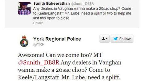Pot plea on Twitter costs Mr. Lube worker his job - Toronto - CBC News | Responsible Digital Citizenship | Scoop.it